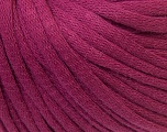 This is a tube-like yarn with soft cotton fleece filled inside. Fiber Content 70% Cotton, 30% Polyester, Purple, Brand Ice Yarns, Yarn Thickness 5 Bulky  Chunky, Craft, Rug, fnt2-32496