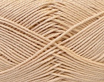 Fiber Content 100% Mercerised Cotton, Brand Ice Yarns, Beige, Yarn Thickness 2 Fine  Sport, Baby, fnt2-32536
