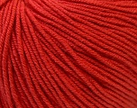 Fiber Content 60% Cotton, 40% Acrylic, Tomato Red, Brand ICE, Yarn Thickness 2 Fine  Sport, Baby, fnt2-32567