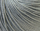 Fiber Content 60% Cotton, 40% Acrylic, Brand ICE, Grey, Yarn Thickness 2 Fine  Sport, Baby, fnt2-32621