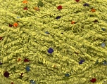 Fiber Content 85% Micro Fiber, 15% Polyamide, Light Green, Brand ICE, Yarn Thickness 5 Bulky  Chunky, Craft, Rug, fnt2-32726