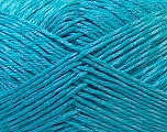 Fiber Content 50% Cotton, 50% Polyester, Turquoise, Brand ICE, Yarn Thickness 2 Fine  Sport, Baby, fnt2-33051