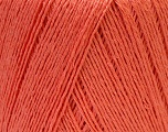 Fiber Content 50% Viscose, 50% Linen, Salmon, Brand ICE, Yarn Thickness 2 Fine  Sport, Baby, fnt2-33231