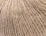This is an excellent yarn with high-content of Alpaca, Mohair, and Merino Wool. Works excellent for your fine-weight patterns with more than 30 plain and melange colors. Fiber Content 40% Merino Wool, 30% Acrylic, 20% Alpaca, 10% Mohair, Brand ICE, Beige, Yarn Thickness 2 Fine  Sport, Baby, fnt2-33534