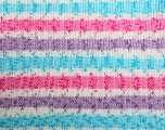 Fiber Content 100% Acrylic, White, Turquoise, Pink, Lilac, Brand ICE, Yarn Thickness 2 Fine  Sport, Baby, fnt2-33691