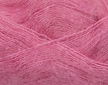 Fiber Content 70% Mohair, 30% Acrylic, Pink, Brand ICE, Yarn Thickness 3 Light  DK, Light, Worsted, fnt2-35057