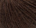 Composition 50% Laine, 50% Acrylique, Brand Ice Yarns, Brown, Yarn Thickness 3 Light  DK, Light, Worsted, fnt2-35930