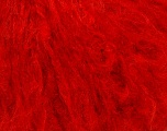 Composition 45% Acrylique, 25% Laine, 20% Mohair, 10% Polyamide, Red, Brand Ice Yarns, Yarn Thickness 4 Medium  Worsted, Afghan, Aran, fnt2-35979