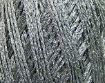 Fiber Content 50% Cotton, 42% Viscose, Silver, Brand ICE, Grey, fnt2-37569