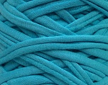 Make handbags,rugs,basket and cushion covers with this genius new-fashion yarn!<p>Since the yarn is made by upcycling fabrics, and because of the nature of the yarn; take the following notes into consideration. </p><ul><li>Width vary between 0,8 cm and 1,2 cm</li><li>Fiber content information may vary. Information given about fiber content is approximate. </li><li>The yardage and weight information of the yarn is approximate. </li></ul> Fiber Content 95% Cotton, 5% Elastan, Light Blue, Brand ICE, fnt2-37917