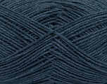 Fiber Content 60% Cotton, 40% Acrylic, Jeans Blue, Brand ICE, Yarn Thickness 3 Light  DK, Light, Worsted, fnt2-38031