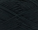 Fiber Content 60% Cotton, 40% Acrylic, Brand ICE, Anthracite Black, Yarn Thickness 4 Medium  Worsted, Afghan, Aran, fnt2-38037