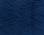 Fiber Content 55% Cotton, 45% Acrylic, Navy, Brand ICE, Yarn Thickness 1 SuperFine  Sock, Fingering, Baby, fnt2-38679