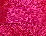 Fiber Content 100% Micro Fiber, Brand ICE, Candy Pink, Yarn Thickness 0 Lace  Fingering Crochet Thread, fnt2-39158