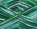 Fiber Content 100% Acrylic, Brand ICE, Green Shades, Yarn Thickness 2 Fine  Sport, Baby, fnt2-39773
