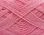 Fiber Content 6% Elastan, 47% Acrylic, 47% Cotton, Pink, Brand ICE, Yarn Thickness 1 SuperFine  Sock, Fingering, Baby, fnt2-39874