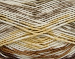 Fiber Content 50% Acrylic, 50% Polyamide, Yellow, Brand ICE, Cream, Camel, Brown, Yarn Thickness 2 Fine  Sport, Baby, fnt2-40189