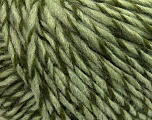 Fiber Content 60% Acrylic, 40% Wool, Light Green, Brand ICE, Green, Yarn Thickness 4 Medium  Worsted, Afghan, Aran, fnt2-40229