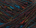 Fiber Content 50% Acrylic, 30% Wool, 20% Polyamide, Turquoise, Purple, Brand ICE, Green, Brown, Yarn Thickness 3 Light  DK, Light, Worsted, fnt2-40278
