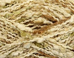 Fiber Content 100% Cotton, Brand ICE, Green, Cream, Brown, Yarn Thickness 3 Light  DK, Light, Worsted, fnt2-40349