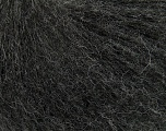 This is an excellent yarn with high-content of Alpaca, Mohair, and Merino Wool. Works excellent for your fine-weight patterns with more than 30 plain and melange colors. Fiber Content 40% Merino Wool, 30% Acrylic, 20% Alpaca, 10% Mohair, Brand ICE, Anthracite Black, fnt2-40598
