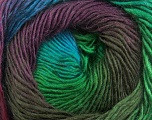 Fiber Content 50% Acrylic, 50% Wool, Turquoise, Brand ICE, Green, Brown, Yarn Thickness 2 Fine  Sport, Baby, fnt2-40632