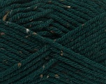 Fiber Content 72% Acrylic, 3% Viscose, 25% Wool, Brand ICE, Dark Green, Yarn Thickness 6 SuperBulky  Bulky, Roving, fnt2-40838