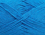 Please note that the yarn weight and the ball length may vary from one color to another for this yarn. Fiber Content 100% Cotton, Brand ICE, Blue, Yarn Thickness 3 Light  DK, Light, Worsted, fnt2-40908
