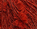 Fiber Content 35% Acrylic, 3% Metallic Lurex, 20% Polyester, 15% Wool, 15% Alpaca, 12% Viscose, Brand ICE, Dark Copper, Yarn Thickness 4 Medium  Worsted, Afghan, Aran, fnt2-40942
