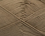 Fiber Content 50% Cotton, 50% Bamboo, Brand ICE, Camel, Yarn Thickness 2 Fine  Sport, Baby, fnt2-41440