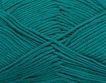 Fiber Content 50% Bamboo, 50% Cotton, Brand ICE, Green, Yarn Thickness 2 Fine  Sport, Baby, fnt2-41445