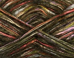 Fiber Content 65% Acrylic, 35% Polyamide, Orange, Lilac, Khaki, Brand ICE, Green, Brown, fnt2-41703