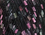 Trellis  Composition 100% Polyester, Silver, Pink, Brand Ice Yarns, Grey Shades, Black, Yarn Thickness 5 Bulky  Chunky, Craft, Rug, fnt2-41719