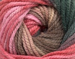 Fiber Content 100% Acrylic, Pink Shades, Brand ICE, Dark Grey, Brown Shades, fnt2-42178