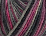 The yarn is hand-dyed. Dyeing process is totally hand made with natural plants and NO chemicals were used. For this reason, please be advised that some white parts may remain. Fiber Content 100% Wool, Pink, Lilac, Brand ICE, Grey Shades, fnt2-42183