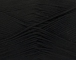 Fiber Content 50% Cotton, 50% Bamboo, Brand ICE, Black, fnt2-42281