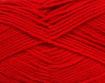Fiber Content 50% Polyamide, 50% Acrylic, Tomato Red, Brand ICE, Yarn Thickness 3 Light  DK, Light, Worsted, fnt2-42378