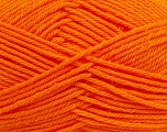 Fiber Content 50% Polyamide, 50% Acrylic, Orange, Brand ICE, Yarn Thickness 3 Light  DK, Light, Worsted, fnt2-42379