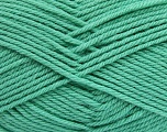 Fiber Content 50% Polyamide, 50% Acrylic, Mint Green, Brand ICE, Yarn Thickness 3 Light  DK, Light, Worsted, fnt2-42381