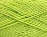 Fiber Content 50% Polyamide, 50% Acrylic, Brand ICE, Baby Green, Yarn Thickness 3 Light  DK, Light, Worsted, fnt2-42383