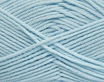 Fiber Content 50% Polyamide, 50% Acrylic, Brand ICE, Baby Blue, Yarn Thickness 3 Light  DK, Light, Worsted, fnt2-42386
