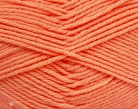 Fiber Content 50% Polyamide, 50% Acrylic, Light Salmon, Brand ICE, Yarn Thickness 3 Light  DK, Light, Worsted, fnt2-42387
