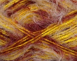 Fiber Content 60% Polyester, 40% Polyamide, Yellow, White, Brand ICE, Burgundy, Yarn Thickness 4 Medium  Worsted, Afghan, Aran, fnt2-42408