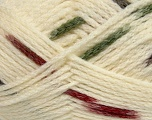 Make a knot on the spots part of the yarn while knitting to give a pompom look. Fiber Content 76% Acrylic, 13% Polyamide, 11% Wool, Khaki, Brand ICE, Cream, Burgundy, Yarn Thickness 5 Bulky  Chunky, Craft, Rug, fnt2-42434