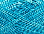Strong pure cotton yarn in beautiful colours, reminiscent of bleached denim. Machine washable and dryable. Fiber Content 100% Cotton, White, Turquoise, Brand Ice Yarns, Yarn Thickness 3 Light  DK, Light, Worsted, fnt2-42574