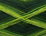 Fiber Content 100% AntiBacterial Micro Dralon, Brand Ice Yarns, Green Shades, Yarn Thickness 2 Fine  Sport, Baby, fnt2-42645