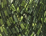 Trellis  Fiber Content 100% Polyester, Brand ICE, Green Shades, Yarn Thickness 5 Bulky  Chunky, Craft, Rug, fnt2-42716