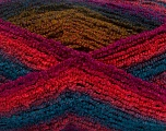 Fiberinnhold 90% Akryl, 10% polyamid, Turquoise, Tomato Red, Brand Ice Yarns, Green, Fuchsia, Yarn Thickness 4 Medium  Worsted, Afghan, Aran, fnt2-42760