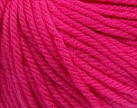 SUPERWASH WOOL BULKY is a bulky weight 100% superwash wool yarn. Perfect stitch definition, and a soft-but-sturdy finished fabric. Projects knit and crocheted in SUPERWASH WOOL BULKY are machine washable! Lay flat to dry. Fiber Content 100% Superwash Wool, Brand ICE, Fuchsia, Yarn Thickness 5 Bulky  Chunky, Craft, Rug, fnt2-42844