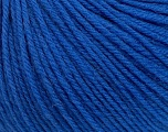 SUPERWASH WOOL is a DK weight 100% superwash wool yarn. Perfect stitch definition, and a soft-but-sturdy finished fabric. Projects knit and crocheted in SUPERWASH WOOL are machine washable! Lay flat to dry. Fiber Content 100% Superwash Wool, Brand ICE, Blue, Yarn Thickness 3 Light  DK, Light, Worsted, fnt2-42930